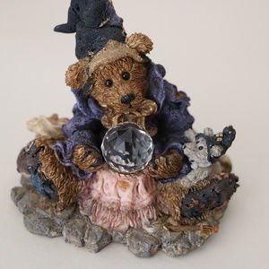 Boyds Bears Accents - Boyds Bear Wonderful Wizard of Wuz Resin